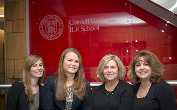 Members of the Alumni Affairs team