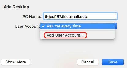 Add remote info