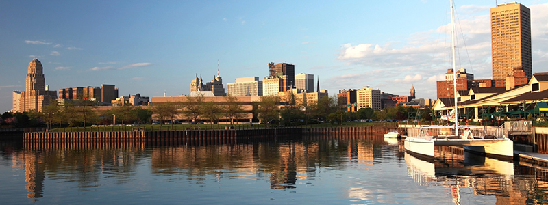 Photo: Buffalo, NY Skyline