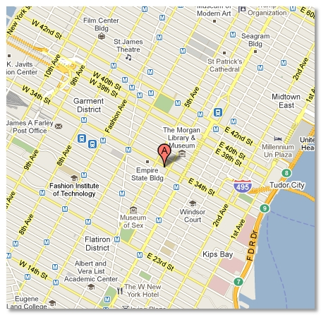 NYC Conference Center Map and Directions