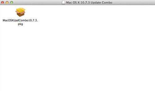 Open the installer