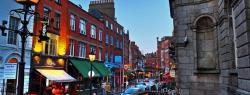 William Street South in Dublin Ireland