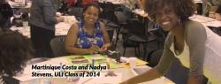 Martinique Costa and Nadya Stevens,  ULI Class of 2014