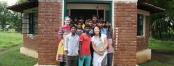 ILR student Katie Lim at the Viveka Tribal Centre for Learning, India Global Service Learning, Summer 2015ng, Summer 2015