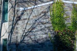 An external shot of Ives Hall