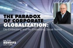 Konvitz Lecture 2019