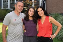 Dawn Levy-Weinstein '88 (right) with her daughter, Katie '22, and husband, Adam Weinstein, CHE '88