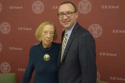 Lois Gray and Kevin Hallock