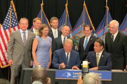 Gov. Cuomo and Al Gore Offshore Wind Announcement