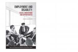 Employment and Disability: Issues, Innovations and Opportunities