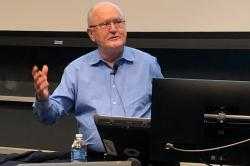 Professor John Ruggie, the Berthold Beitz Professor in Human Rights and International Affairs at Harvard's Kennedy School of Government