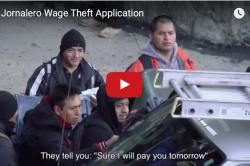 """Jornalero Wage Theft App - """"They tell you: 'Sure I will pay you tomorrow"""""""