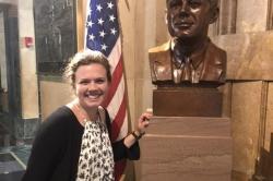 2017 High Road Fellow Emily King at Buffalo City Hall