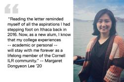Margaret Dongyeon Lee '20 quote image