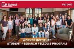 Worker Institute Fellows 2019