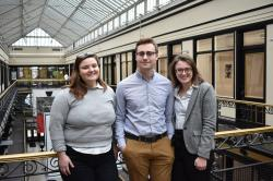 3 Buffalo Co-Lab winter interns