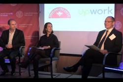 Stephane Kasriel, Sara Horowitz and Louis Hyman