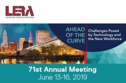 Graphic of the 71st annual LERA meeting.