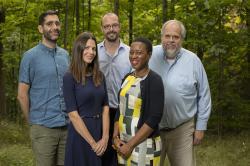 Ifeoma Ajunwa, Martin Wells, ILR School, with social scientists, Cornell