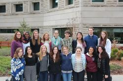 17 ILR Global Service Learning Program students