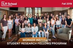 2019 Workers Institute Student Research Fellows
