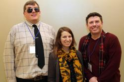YTI's Joe Zesski and Jeffrey Tamburo worked with Sally Heron to improve accessibility for Planned Parenthood of the Southern Finger Lakes.