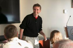 Al Davidoff '80 teaching