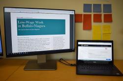 Buffalo computer monitors