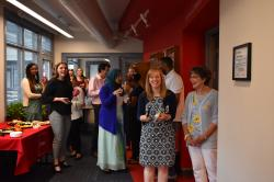 The People Behind the Data Art Reception hosted by Buffalo Co-Lab and Partnership for the Public good