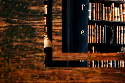 abstract texture with books