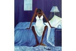 """""""Blue Monday"""" Painted by Annie Lee"""