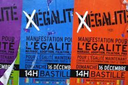 Poster: Manifestation Pour L'Egalité