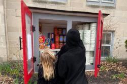 Outdoor Blessing Box in Buffalo, NY