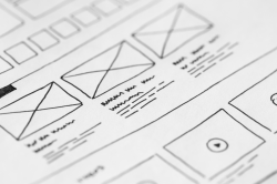 website wireframe image