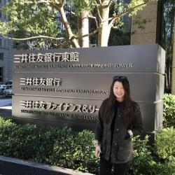 Lydia Kim, credit internship student