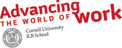 ILR School brand and CU logo with angle