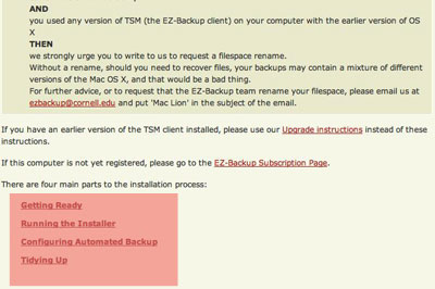 EZ-Backup instructions