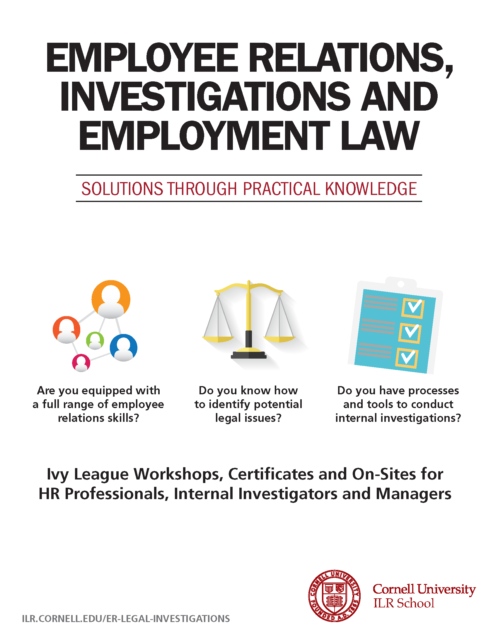 employee relations, internal investigations, employment law, hcd, human capital development, cornell ilr