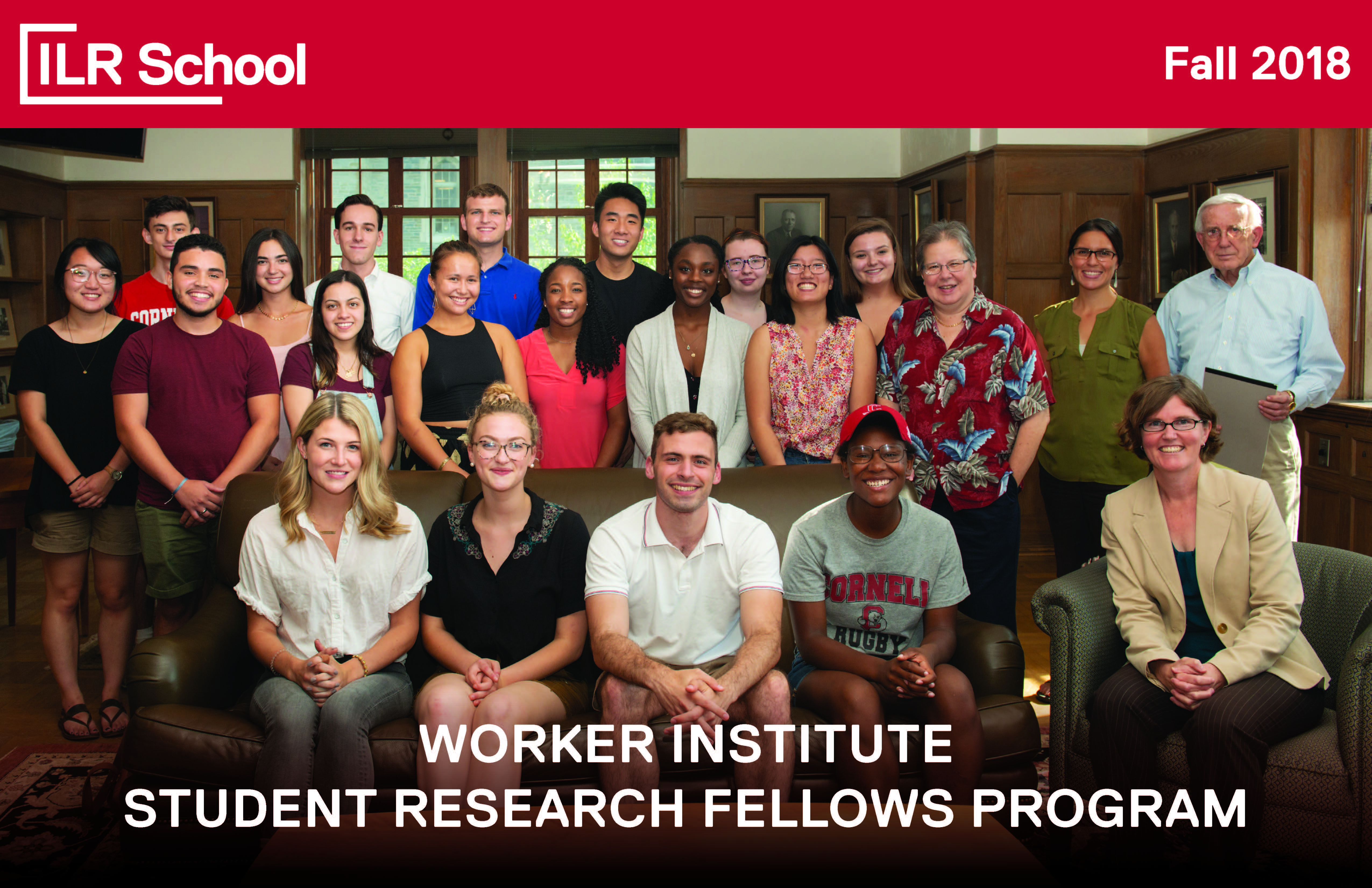 WORKER INSTITUTE STUDENT RESEARCH FELLOWS PROGRAM