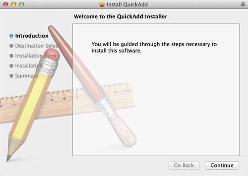 Quick-Add installer