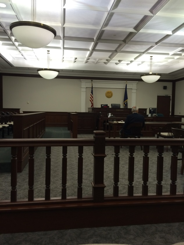 Visiting court in Genesee County
