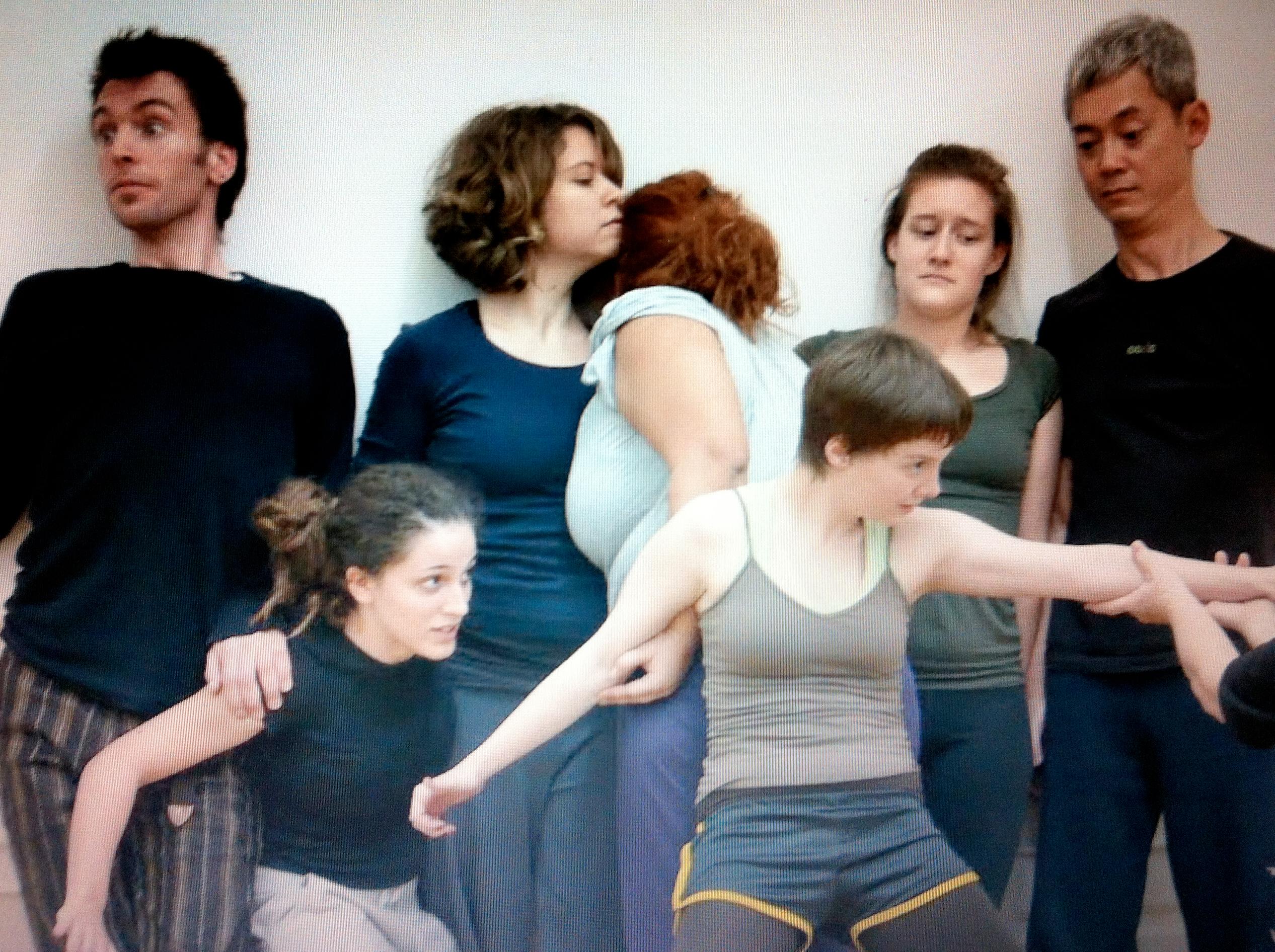 Anya Gibian and Performers