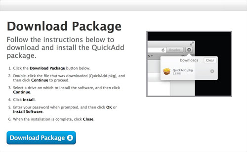 Download Quick-Add