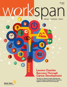 May 2015 Workspan Magazine Cover Image