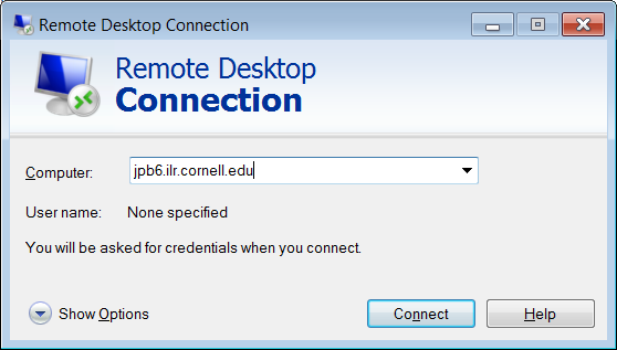 Will remote desktop connection (remote access) internationally?
