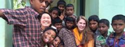 ILR students participating in an international experience