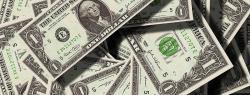 Pile of U.S. paper money