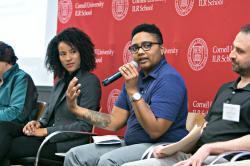 Erica Smiley Speaks on a Panel with Dawn Gearhart and Daniel Gross at the Gig Economy Conference