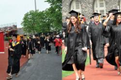 University and ILR ceremonies Sunday