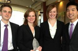 Team of ILR graduate students wins invitational in Ohio